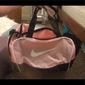 Light pink Nike Duffle